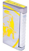 Газовая красивая зажигалка Lamborghini TTR001002 желтая