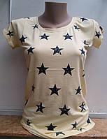 Женская трикотажная футболка Звездочка