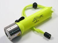 Фонарь светодиодный подводный CREE для дайвинга, фото 1