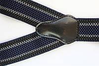 Подтяжки 'Classic-Line' темно-синие с полосками