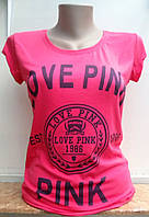 Женская футболка Love Pink