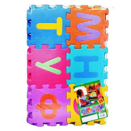 """Детский коврик-мозаика """"Алфавит"""" М 0379, УКР, фото 2"""
