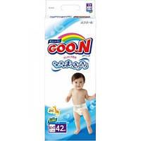 Подгузники GOO.N для детей Big XL (12-20) кг, 42 шт. унисекс