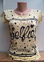 Женская футболкаSelfie