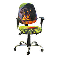 Кресло детское Бридж хром дизайн 10 Щенок, фото 1