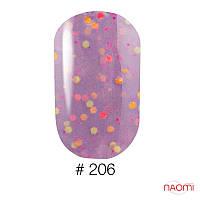 Гель-лак Naomi Candy Bar 6 мл №206