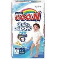 Трусики-подгузники GOO.N L (9-14) кг, 44 шт. для мальчика
