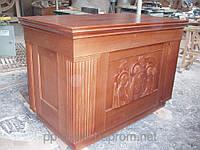 Деревянный подиум, трибуна для проповедников