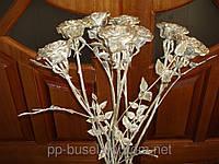 Кованая роза, кованные цветы, кованные растения, Украина