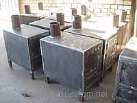 Піч-буржуйка-теплушка на дровах, брикетах, 6мм, Україна