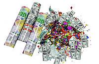 Пневмохлопушка Доллар/Евро, 20 см