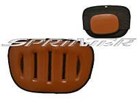 Пояс водителя на липучке M коричневый. 103