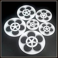 """Каттер """"Цветок"""" (набор 6 шт.), фото 1"""