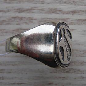 Серебряная мужская печатка с орнаментом, 8 грамм