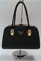 Сумка женская - черный чемоданчик