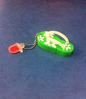 Флешка вьетнамок 8Гб зеленый
