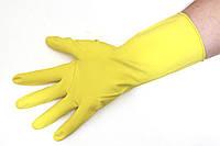 Перчатки резиновые L York большой размер