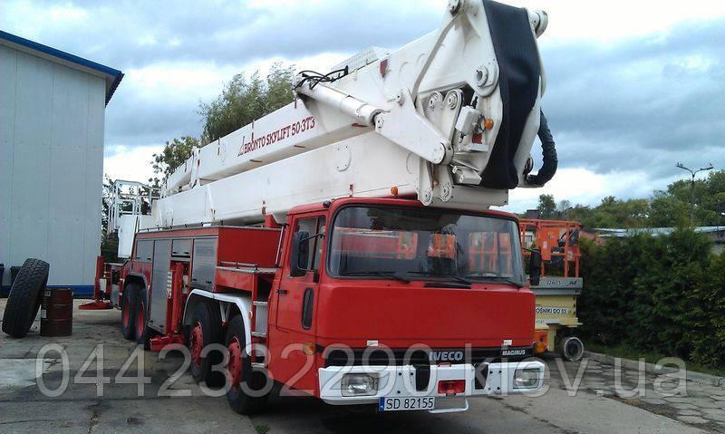 Большая автовышка 50 метров в Киеве