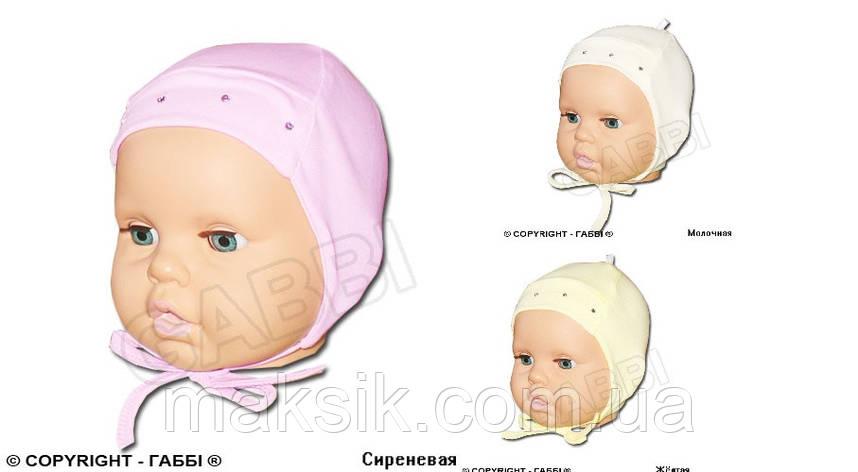 """Шапка для новорожденных  """"Малышка"""", фото 2"""
