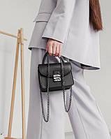 Маленькая сумочка через плечо сумка через плечо женская брендовая модная стильная фурла статусная