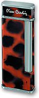 Газовая интригующая зажигалка Pierre Cardin MF-64C-12 коричневый (мрамор)