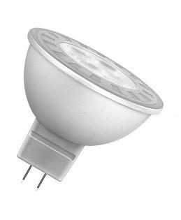 Светодиодная лампочка MR16 GU5.3, 7 Вт теплый белый 3200К