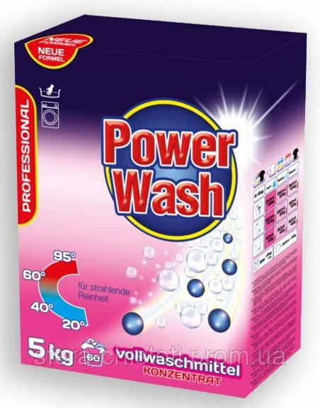 Стиральный порошок универсальный Power Wash 5 KG концентрат