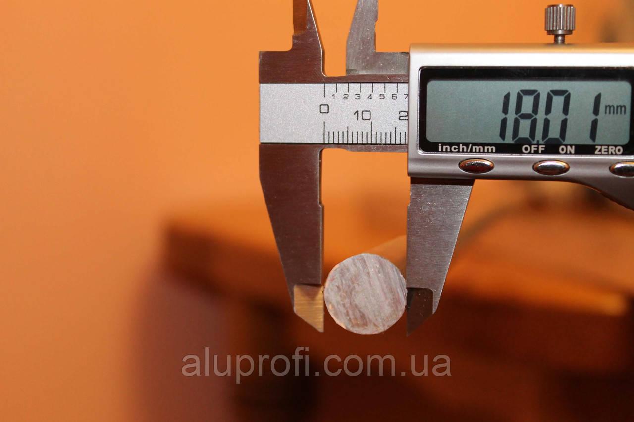 Круг алюминиевый  ф18мм AW-2024 Т351 (Д16Т)