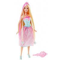 """Кукла Барби """"Принцесса с длинными волосами"""" (блондинка) / Barbie Endless Hair Kingdom Princessl, Pink"""