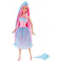 """Кукла Барби """"Принцесса с длинными волосами"""" (голубые) / Barbie Endless Hair Kingdom Princessl, Blue, фото 2"""