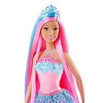 """Кукла Барби """"Принцесса с длинными волосами"""" (голубые) / Barbie Endless Hair Kingdom Princessl, Blue, фото 3"""