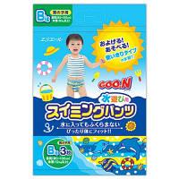 Трусики-подгузники для плавания Goo.N Big XL (от 12) кг, ростом 80-100 см, 3 шт. для мальчика