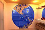 Стеклопакет в сауну(Стеклянный фасад в сауну), фото 3