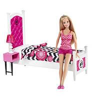 "Набор Кукла Барби ""Роскошная спальня"" / Barbie Doll and Bedroom Furniture Set"