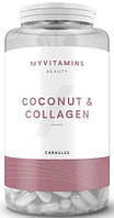 Улучшение состояния кожи Myprotein - Coconut + Collagen (60 капсул)