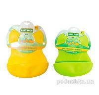 Нагрудник резиновый для кормления малыша Baby Team AKT-6500