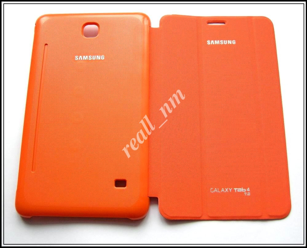 Оранжевый чехол Book Cover для Samsung Galaxy TAB 4 7.0 T230 T231