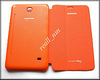 Оранжевый чехол Book Cover для Samsung Galaxy TAB 4 7.0 T230 T231, фото 1