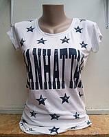 Женская футболка Manhattan
