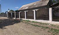 Кованый забор, фото 1