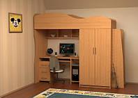 Детская кровать ДМ-27