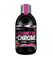 Жиросжигатель BioTech L-Carnitine 35 000 + Chrome (500 ml)
