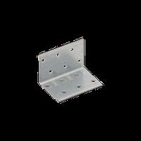 Уголок монтажный усиленный KMP 2 (40 мм х 40 мм х 60 мм х 1,5 мм) Domax Польша строительный крепеж, фото 1