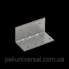 Уголок монтажный усиленный KMP 3 (40 мм х 40 мм х 80 мм х 1,5 мм) Domax Польша строительный крепеж