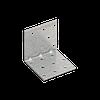 Уголок монтажный усиленный KMP 5 (60 мм х 60 мм х 60 мм х 1,5 мм) Domax Польша строительный крепеж
