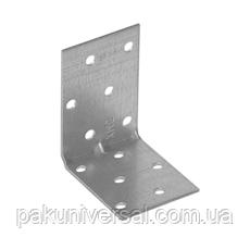 Уголок монтажный усиленный KMP 4 (60 мм х 60 мм х 40 мм х 1,5 мм) Domax Польша строительный крепеж