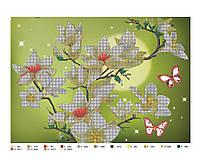 Схема для вышивки бисером или крестиком цветы, А3