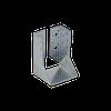 Крепление балки загнутое WBZ 26 (80 мм х 120 мм х 2 мм)  Domax Польша строительный крепеж