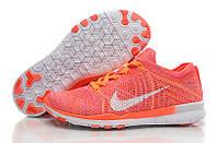 Женские кроссовки Nike Free TR Flyknit 5.0 Fluorescent Red