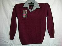 Рубашка подросток обманка Турция 8095